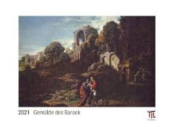 Gemälde des Barock 2021 - White Edition - Timokrates Kalender, Wandkalender, Bildkalender - DIN A3 (42 x 30 cm)