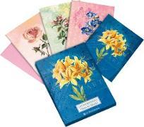 Die Gärten der Künstler Grußkartenset Motiv Gelbe Orchidee