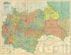 Großdeutsches Reich - Postleit-Gebietskarte, März 1944. 2 Bd