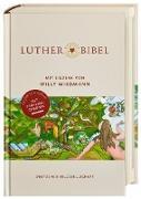 Lutherbibel mit Bildern von Willy Wiedmann