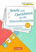 Perfekt organisiert ins neue Kita-Jahr / Briefe und Checklisten für die Elterninformation