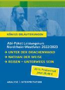 Abitur Deutsch NRW 2022 LK - Königs Erläuterungen-Paket