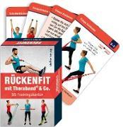 Trainingskarten: Rückenfit mit Theraband® & Co