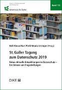 St.Galler Tagung zum Datenschutz 2019