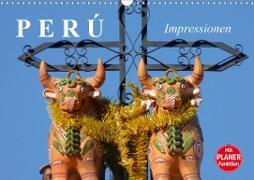 Perú. Impressionen (Wandkalender 2021 DIN A3 quer)