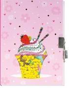 Trötsch Tagebuch mit Pailletten Herz Eiscreme