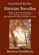 Züricher Novellen (Großdruck)