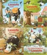 Lieselotte Minibroschur 4er-Set