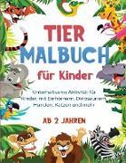 Tier Malbuch für Kinder
