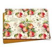 2er-Set Platzsets »Apfel«