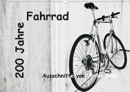 200 Jahre Fahrrad - Ausschnitte von Ulrike SSK (Wandkalender 2021 DIN A3 quer)