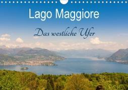 Lago Maggiore - Das westliche UferCH-Version (Wandkalender 2021 DIN A4 quer)