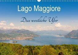 Lago Maggiore - Das westliche UferCH-Version (Wandkalender 2021 DIN A3 quer)