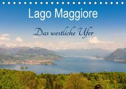 Lago Maggiore - Das westliche UferCH-Version (Tischkalender 2021 DIN A5 quer)