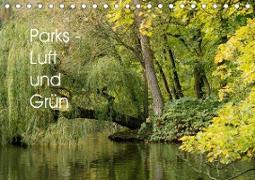 Parks - Luft und Grün (Tischkalender 2021 DIN A5 quer)