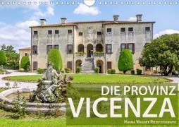 Die Provinz Vicenza (Wandkalender 2021 DIN A4 quer)