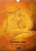 Erotische Gemälde und Zeichnungen 2021 (Wandkalender 2021 DIN A4 hoch)
