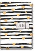 Trötsch Tagebuch mit Zahlenschloss Goldheart