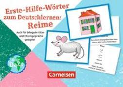 Deutsch lernen mit Fotokarten - Kita / Erste-Hilfe-Reime