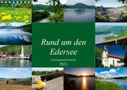 Rund um den Edersee (Wandkalender 2021 DIN A4 quer)