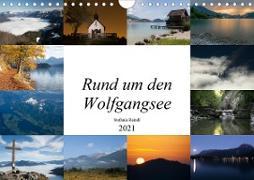 Rund um den Wolfgangsee (Wandkalender 2021 DIN A4 quer)