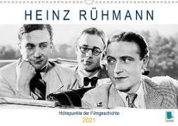 Heinz Rühmann: Höhepunkte der Filmgeschichte (Wandkalender 2021 DIN A3 quer)