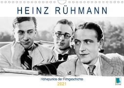 Heinz Rühmann: Höhepunkte der Filmgeschichte (Wandkalender 2021 DIN A4 quer)