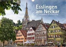 Esslingen am Neckar. Ein- und Ausblicke von Andreas Voigt (Wandkalender 2021 DIN A3 quer)