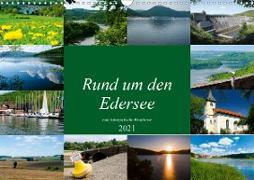 Rund um den Edersee (Wandkalender 2021 DIN A3 quer)