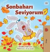 I Love Autumn (Turkish Children's Book)