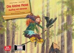 Die kleine Hexe: Ausflug mit Abraxas. Kamishibai Bildkartenset
