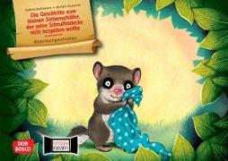 Die Geschichte vom kleinen Siebenschläfer, der seine Schnuffeldecke nicht hergeben wollte. Kamishibai Bildkartenset