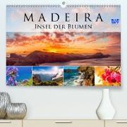 Madeira - Insel der Blumen 2021 (Premium, hochwertiger DIN A2 Wandkalender 2020, Kunstdruck in Hochglanz)