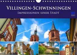 Villingen-Schwenningen - Impressionen einer Stadt (Wandkalender 2021 DIN A4 quer)