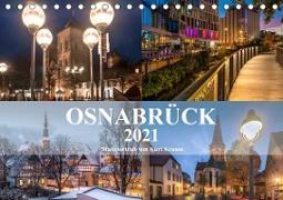 Stadtportrait Osnabrück (Tischkalender 2021 DIN A5 quer)