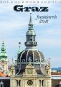 Graz - faszinierende Stadt (Tischkalender 2021 DIN A5 hoch)