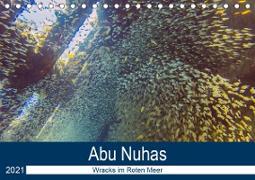 Abu Nuhas - Wracks im Roten Meer (Tischkalender 2021 DIN A5 quer)