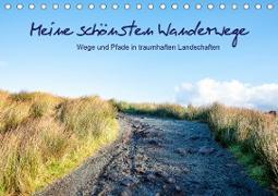 Meine schönsten Wanderwege (Tischkalender 2021 DIN A5 quer)