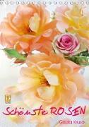 Schönste Rosen (Tischkalender 2021 DIN A5 hoch)