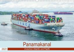 Panamakanal - Zwischen Atlantik und Pazifik (Wandkalender 2021 DIN A3 quer)