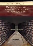 Catalogue of the Mingana Collection of Manuscripts (Vol 3)