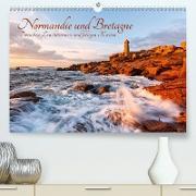 Normandie und Bretagne: Zwischen Leuchttürmen und felsigen Küsten (Premium, hochwertiger DIN A2 Wandkalender 2020, Kunstdruck in Hochglanz)