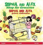 Sophia and Alex Shop for Groceries: Sophia und Alex gehen einkaufen
