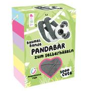 Frech Verkaufspaket. Sooo Cute Baumel-Bande Häkelset Pandabär