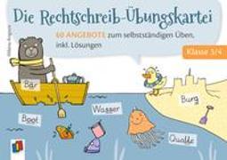 Die Rechtschreib-Übungskartei – Klasse 3/4