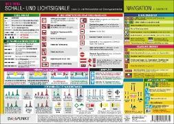 Info-Tafel-Set Schall- und Lichtsignale (Binnen)
