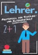 Lehrer - Protokoll der Schüler- und Elterndetails