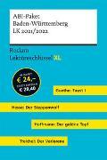 Lektüreschlüssel XL. ABI-Paket Baden-Württemberg LK 2021/2022