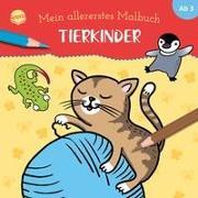 Mein allererstes Malbuch. Tierkinder