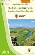 Bietigheim-Bissingen - Stromberg-Heuchelberg, Zabergäu Wanderkarte 1:25.000